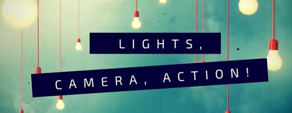 Lights Camera Action movies love
