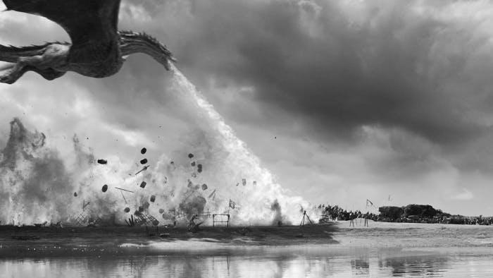 game of thrones drogon spoils of war
