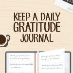 gratitude journal say thanks