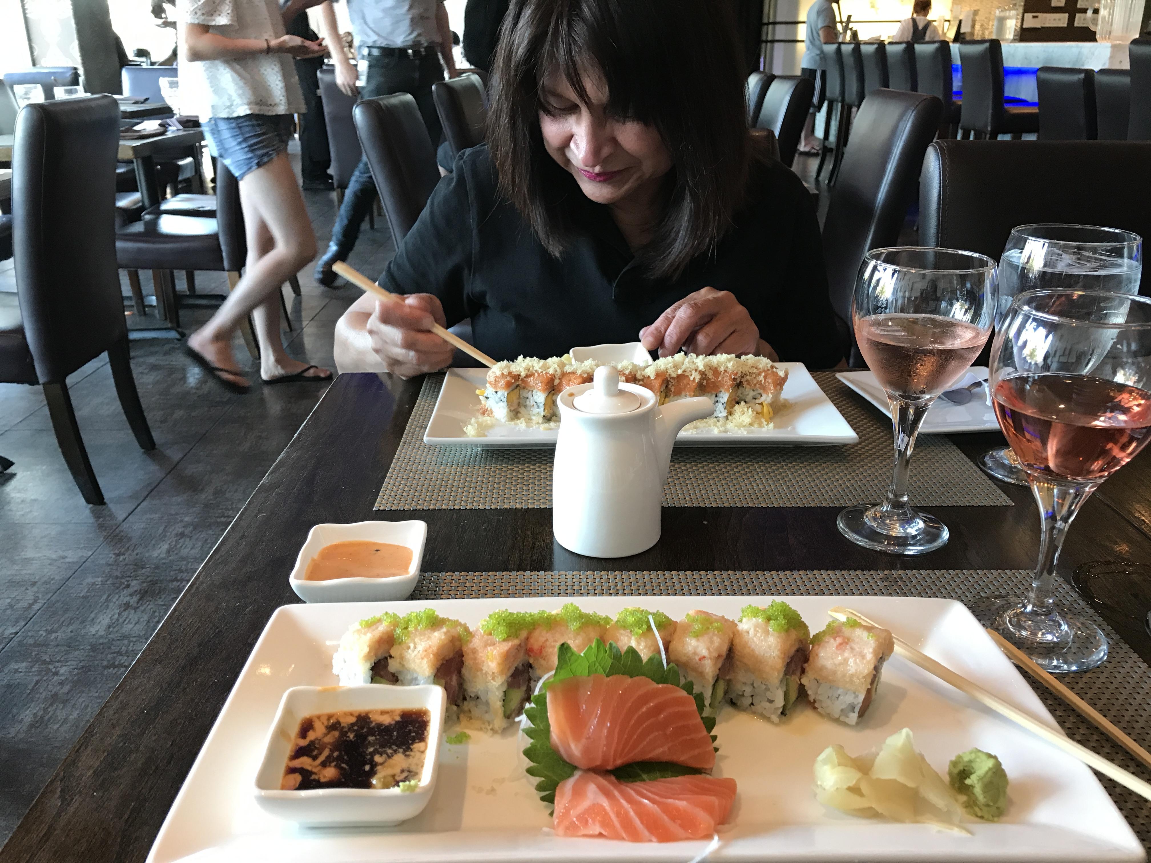 kumo sushi sashimi dinner wasa bae