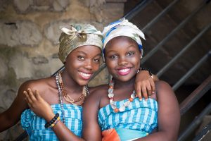 african girls puberty periods