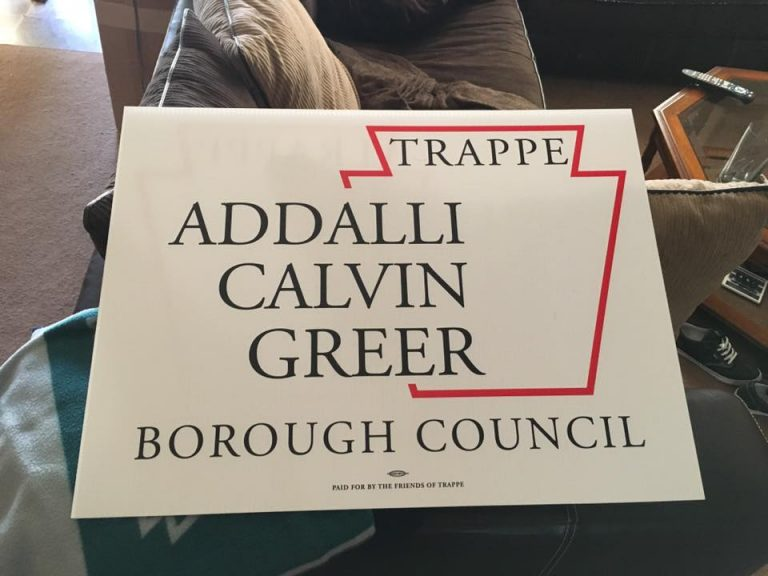 trappe borough council candidates