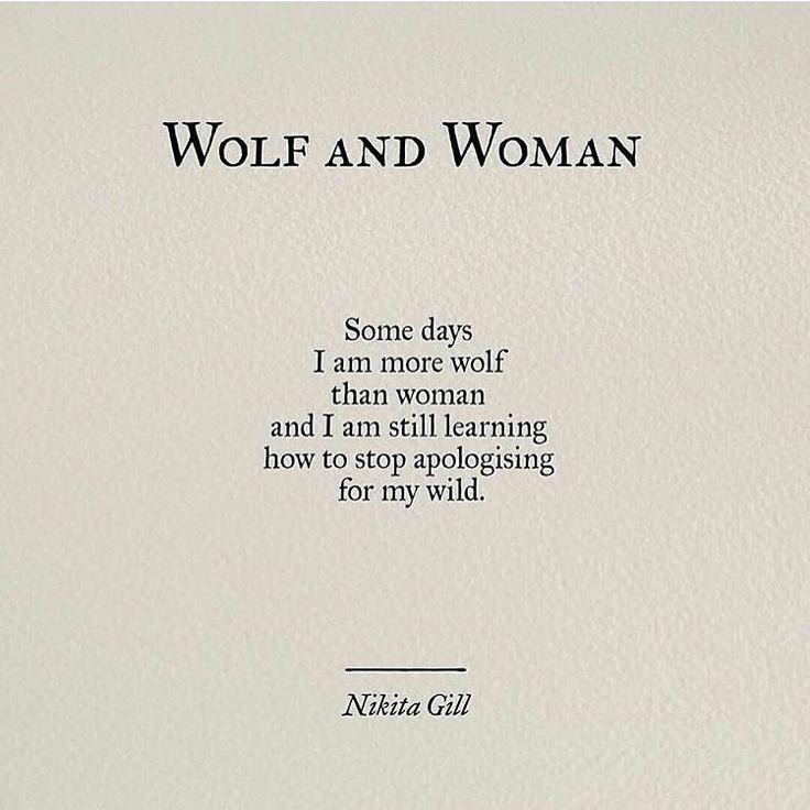 positive women wolf